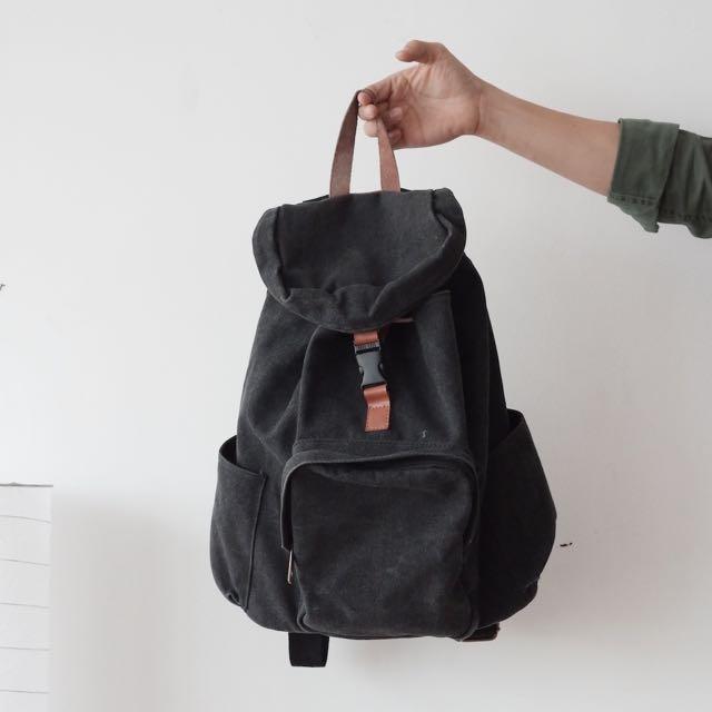 Tas Backpack Grey