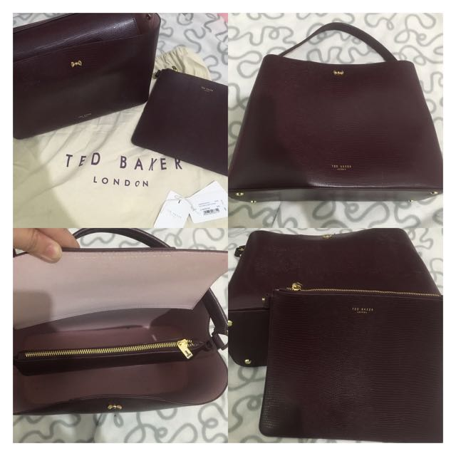 🃏TED BAKER HANDLE BOW TOTE BAG 🃏