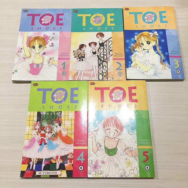 Komik Toe Shoes