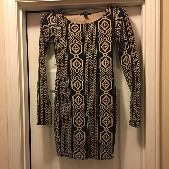 Tribal Printed Dress