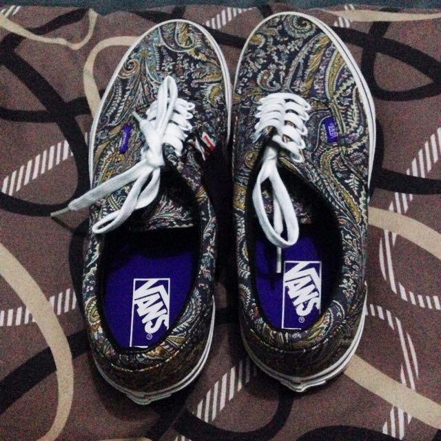 Vans Liberty Era (Grey Paisley)