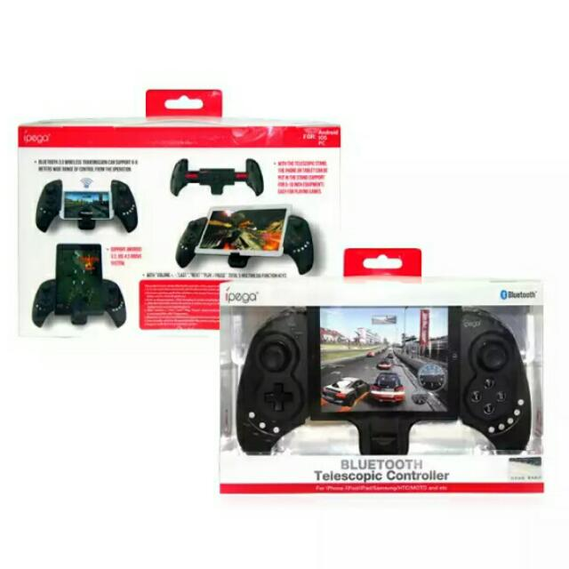 Wireless Bluetooth Game Pad Controller For Cellphone Tablet iPod PC Game Console D3359A