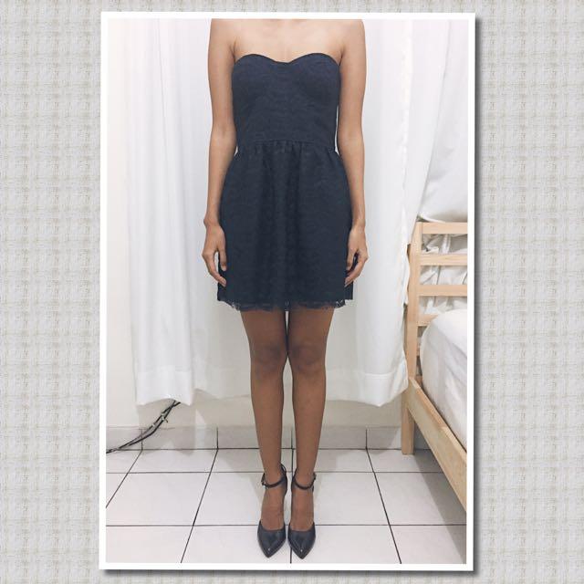 Zara Lace Tube Dress