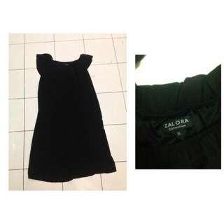 Zalora Black Sabrina Dress