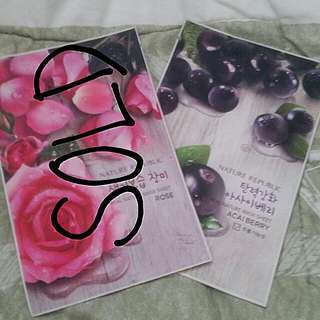 Nature Republic Mask Sheet Acai Berry (Masker Wajah)
