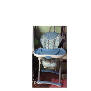 Baby Co. High Chair and Happy Dino stroller