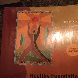 Early Childhood Education : Healthy Foundation (George brown )