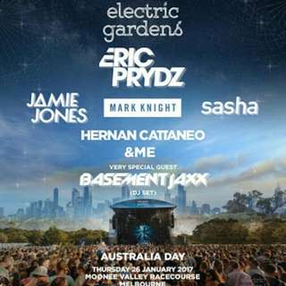 Electric Gardens Melbourne Tickets