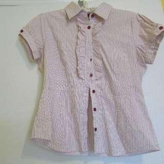 Womens Med White Shirt