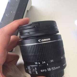 Canon eFS 18-55mm Lens IS II