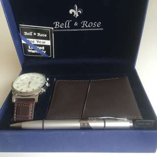 Bell And Rose Gift Set