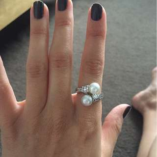 Pearl Sterling Silver ring