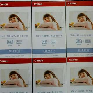 Canon Selphy Photo Paper KP108IN - Promo