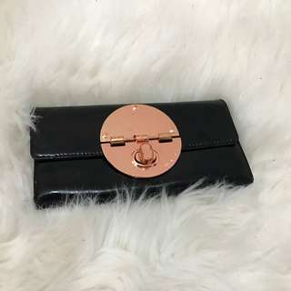 MIMCO black leather wallet
