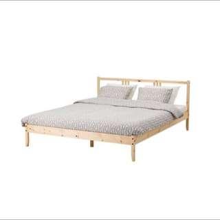 Fjellse IKEA Double Bedframe