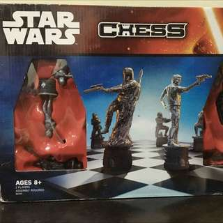 Star Wars Chess game by Hasbro