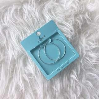Collette: Sterling Silver Hoop Earrings