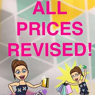 ALL PRICES SLASHED!!