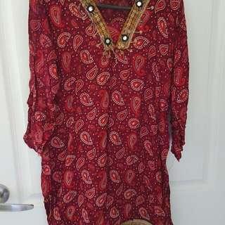 Indian Dress Salwar Kameez Sleeves