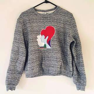 CARVEN Retro Styled Motif Sweater