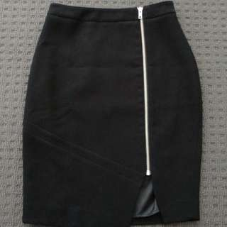 Portmans Pencil Skirt With Zip
