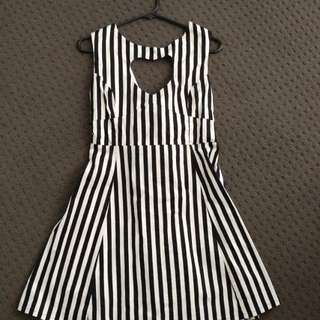 Black Friday Heart Cut Out Dress