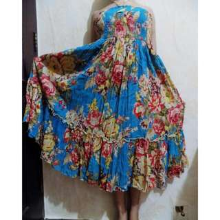 CUCI GUDANG Dress lilit bangkok