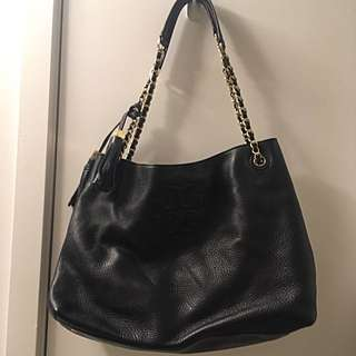 Tory Burch black Leather Bag