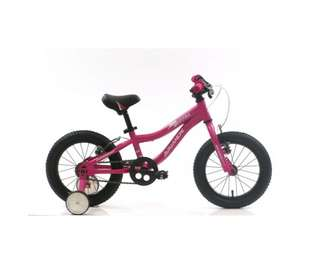 "Avalanche Storm Bike 14"" Girls Bicycle Pink"