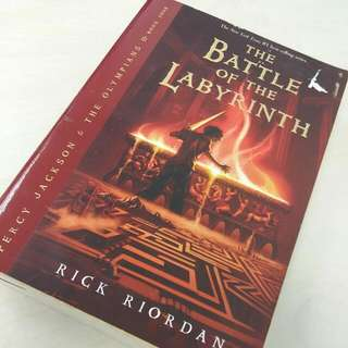 Rick Riordan - Percy Jackson and The Battle of the Labyrinth