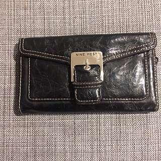 Nine West Black Leather Wallet