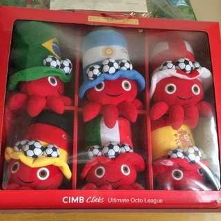 CIMB Octo League Push Toy