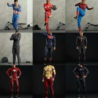 Superhero Compression Set (Top + Bottom)