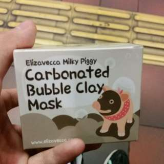Elizavecca Carbonated Bubble Mask