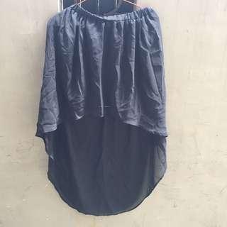 cute skirt black and nyla nude
