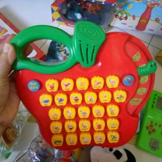 musical and learn ABC toys