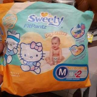 Sweety Fitpantz Diapers