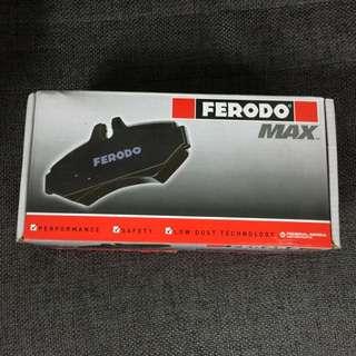 Accord CP1 CP2 Ferodo Max Brake Pads Honda