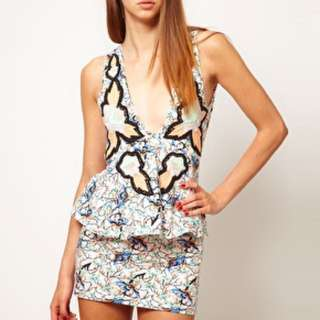 Alice McCall Multi coloured Patterned dress 6