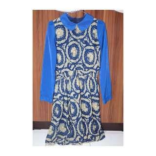 Dress Colar Batik