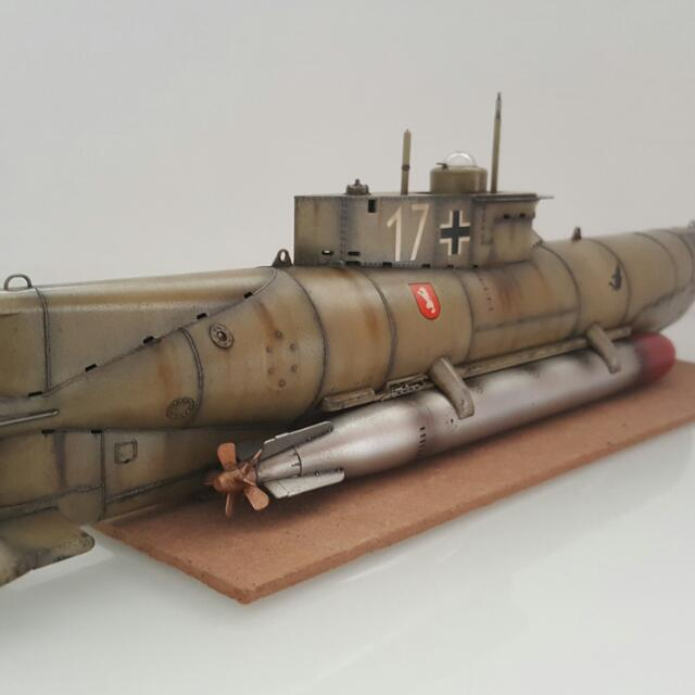 1/35 German Midget Submarine Seahund, Toys & Games, Others on Carousell