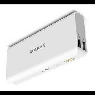 Romoss Sense 4 10400mah Power Bank (white)