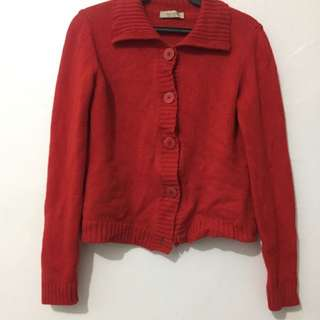 Heavy Red Sweater