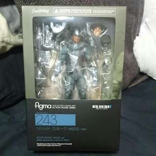 Solid Snake Mgs 2 Ver. Figma (authentic)