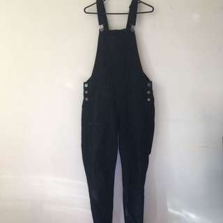 Cotton On Ripped Overall Jeans
