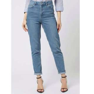 Brand New Topshop Moto Mom Jeans BNWT