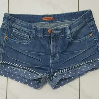 Hotpants Jeans Body N Soul