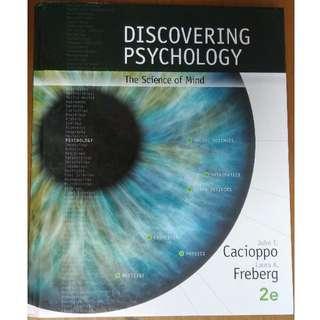 Discovering Psychology by Laura Freberg, John Cacioppa 2nd edition (Hardback)