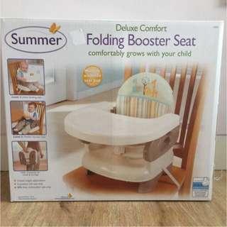 Summer Folding Booster Seat Tempat Duduk Makan Bayi