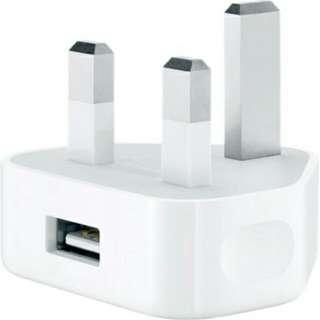 Apple 5W USB adapter (原廠 iphone 充電插頭)